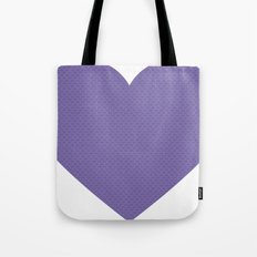 I love you this much... (purple) Tote Bag