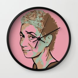 June Jordan Wall Clock