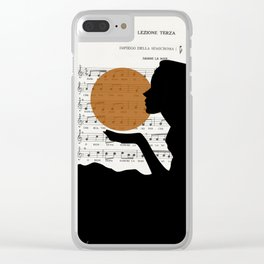 Music in the sun Clear iPhone Case