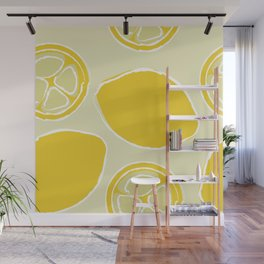Lemon Bees Knees Wall Mural