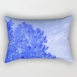 Blue Day Rectangular Pillow