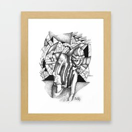 Invisibility Framed Art Print