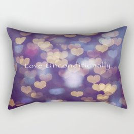 Love Unconditionally Rectangular Pillow