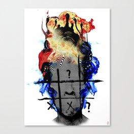 Internal Warfare Canvas Print