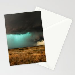 Jewel of the Plains - Storm in Texas Stationery Cards