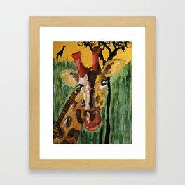 Sunny Safari - Panel 1 Framed Art Print