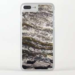 Torrent river Clear iPhone Case