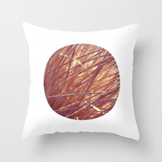 autumn straw Throw Pillow
