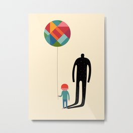 Grow Up Metal Print