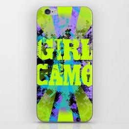 girly camo iPhone Skin