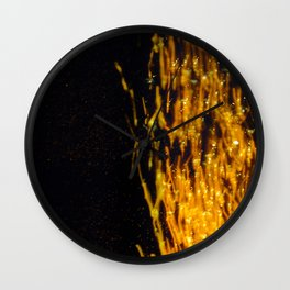 Primary Colors: Yellow Wall Clock