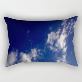 Clouds and sky II-cloud,sky,skies,vapor,fog,mist,cloudscape,nube,atmosfera,atmosphere,cielo,air Rectangular Pillow