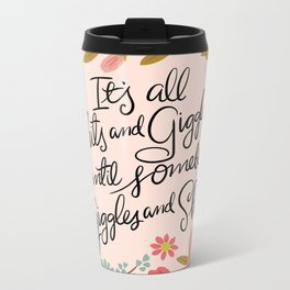 Pretty Sweary: It's all shits and giggles until... Metal Travel Mug