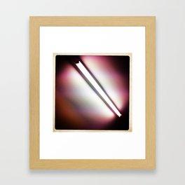 Fluorescent Framed Art Print