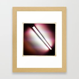 Fluorescent Framed Art Print