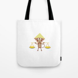 Vietnamese monkey Tote Bag