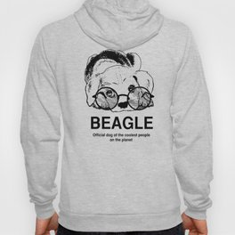 Beagle Dog for Coolest Owners - Beagle Lovers Gift Ideas Hoody