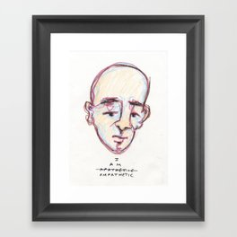 empathetic Framed Art Print