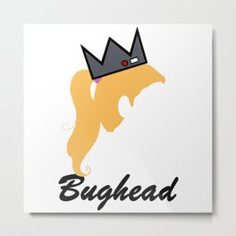 Bughead Metal Print