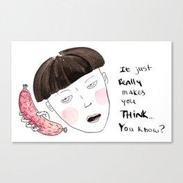 Sausage Girl 01 Canvas Print
