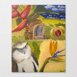 Scenes of Grenada Canvas Print