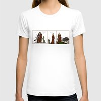legolas T-shirts featuring Daddy! Childish Fears by wolfanita