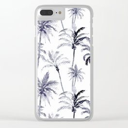 Palm Trees #2 Clear iPhone Case