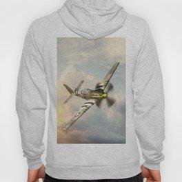 P-51 Mustang World War II Fighter Plane Hoody