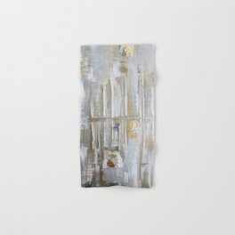 Metallic Abstract Hand & Bath Towel