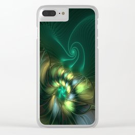 Fractal Fantasia, Radiant And Magical Clear iPhone Case