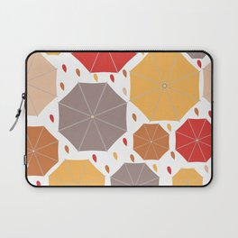 Autumn umbrellas Laptop Sleeve