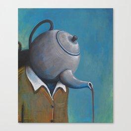 Constant Dribble (tea pot) Canvas Print