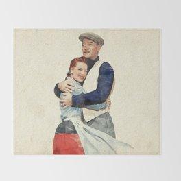 The Quiet Man - Watercolor Throw Blanket