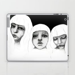 there's three inside of me Laptop & iPad Skin