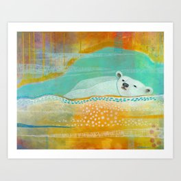 We Are Dreaming of the Stars Art Print