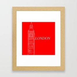 The London Framed Art Print