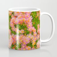 blanket Mugs featuring Daisy Blanket by Kaitlynn Lewis