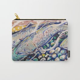 Pacific Northwest Salmon Carry-All Pouch