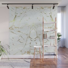 Stone Gold Marble Wall Mural