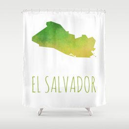 El Salvador Shower Curtain