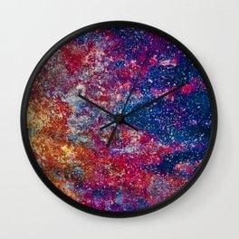 Color Fields: Festival Lights Wall Clock
