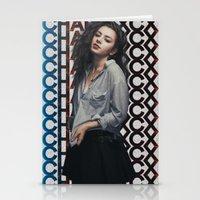 charli xcx Stationery Cards featuring Charli XCX  by Illuminany