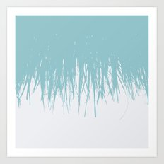 Fringe Salt Water Art Print