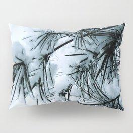 Snow Laden Pine - A Winter Image Pillow Sham