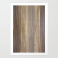 wood Art Prints featuring Wood  by Words N Quotes