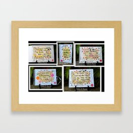 Sweet Life 4 Framed Art Print