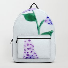 Christopher's Lilac Backpack
