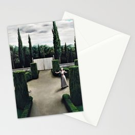 Classical Masterpiece 'Florentine Garden' by Pyke Koch Stationery Cards