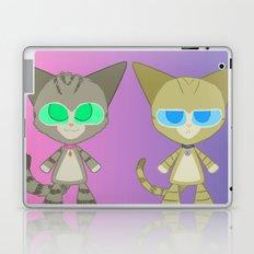 Cat Twins (Clara and Clarence Cat) Laptop & iPad Skin