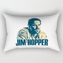 jim hoppe Rectangular Pillow
